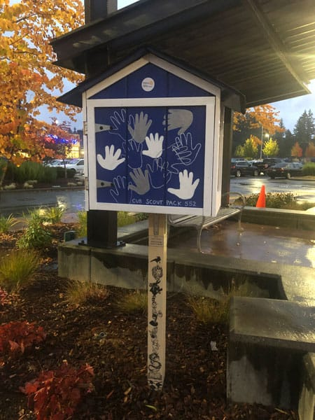 Free Little Library at Sunrise Village