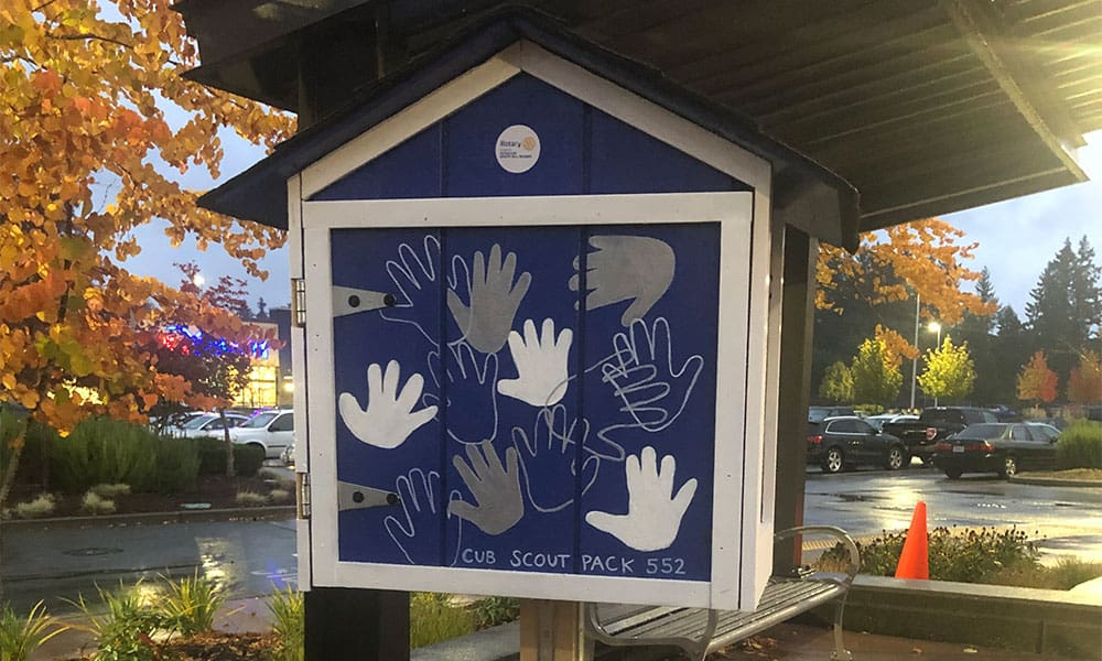 Free Little Library Unveiling