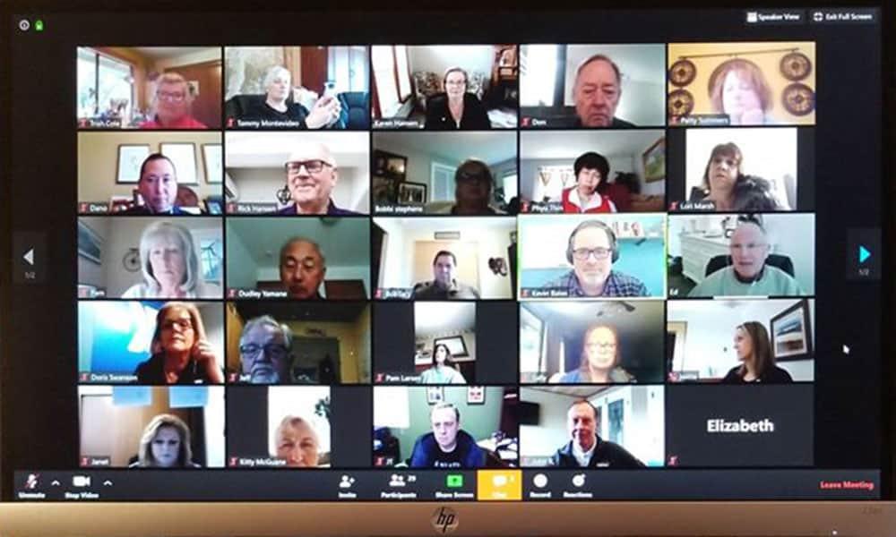 Zoom Meeting