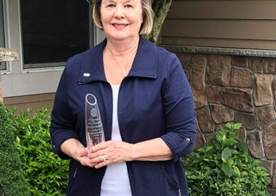 Karen Hansen, Rotarian of the Year Award